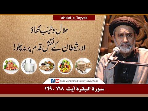 Halal o Tayyab Khao! | Ayaat-un-Bayyinaat | Hafiz Syed Muhammad Haider Naqvi | Urdu
