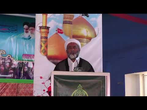 [2nd Convention of Asgharia Ilm o Amal Thareek Pakistan] Speech of HIWM Mukhtar Imami | Sindhi
