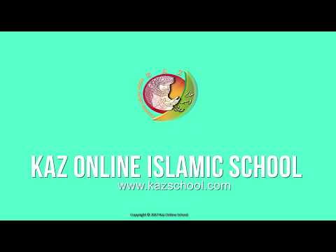 Kids Islamic Stories | Asool e Deen | Muslim | Kaz School | English