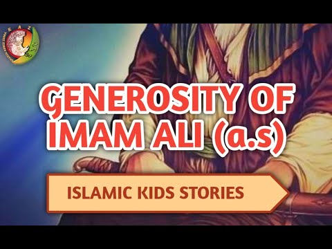kids islamic stories | Generosity of Imam Ali (As) | Imam Ali | Kaz school | English