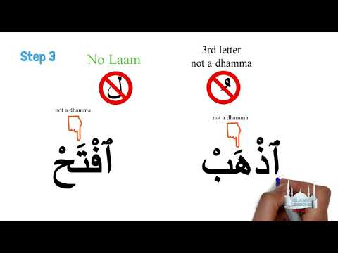 Reading Arabic - Hamzatul Wasl - Lesson 12 | English