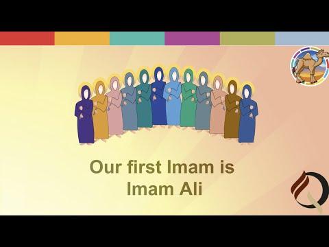 [Poem of Q Fatima] Twelve Imams   English
