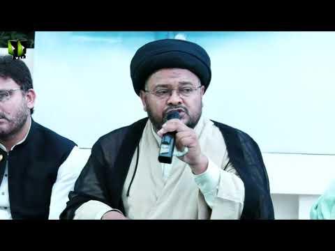 [Speech] Azadi Al-Quds Conference | Moulana Nazir Taqvi | Mah-e-Ramzaan 1442 | Urdu