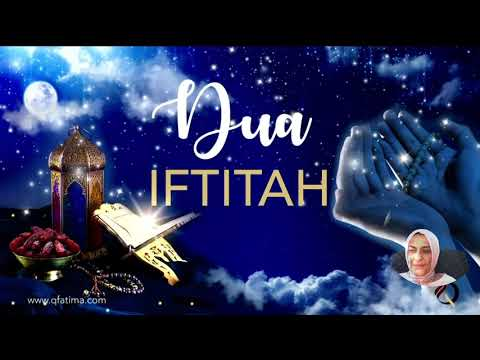 [Recommended to read daily in Ramdhan by Imam Mehdi (AJ] Dua Iftitah with English translation
