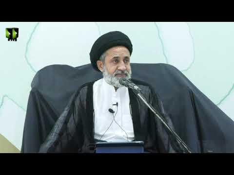[9 Audio] Tafsir Surah -e- Baqrah Ke Muntakhib Aayat | H.I Muhammad Haider Naqvi | Mah-e-Ramzaan | Urdu