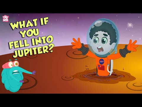 What if You Fell Into Jupiter?   Space Video   Planet Jupiter   Dr Binocs Show   English