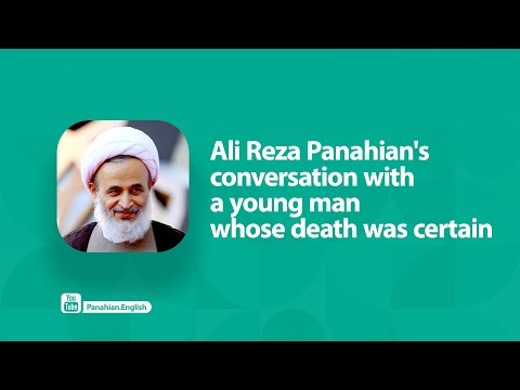 [Clip] Ali Reza Panahian\'s conversation with a young man whose death was certain   Farsi sub English