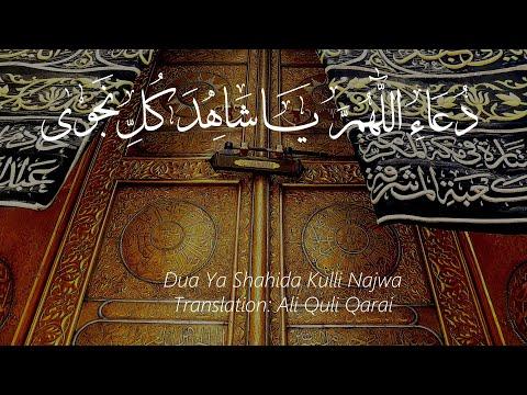 Dua Ya Shahida Kulli Najwa - Arabic with English subtitles (HD)