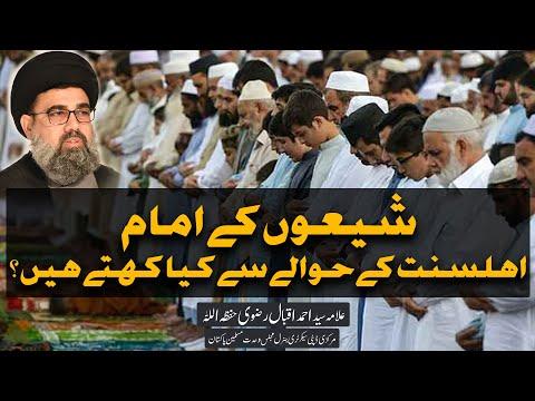 Shion k Imam Ahle Sunnat k hawaly se kia kahty hain? | Allama Syed Ahmed Iqbal Rizvi | Urdu