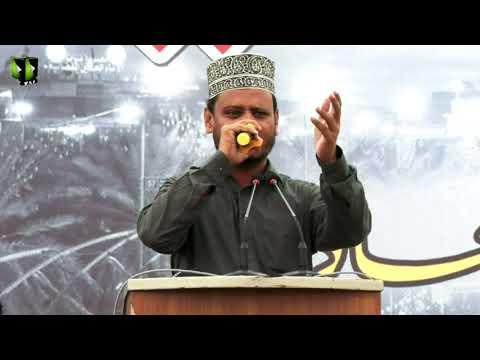 [Salam] Youm-e-Hussain (as) 1443 | Janab Nasir Azizi | University of Karachi | Urdu