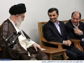 Ayatullah Khamenei: There is not any night I do not Pray for Ahmadinejad - Farsi