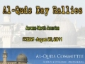 [AQC] Al-Quds Day in USA [Clips of participating cities] - 26 August 2011 - All Languages