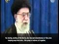 [CLIP] Ayatollah Khamenei regarding Ramadan - Farsi sub English