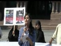 Speech by Sister Amina Mughal- Toronto Protest for Rohingya Muslims - 25AUG2012 - English