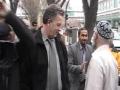 Peace Walk against terrorism & Violence Interview by media - Syed Badiudeen Soharwardi - English