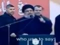 [CLIP] Who is Syed Hassan Nasrallah..? - Arabic sub English