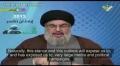 Hezbollah S.G. Nasrallah to EU: Soak Your Terror List & Drink its Water - Arabic sub English