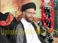 [09] Ahmiat-e-Azadari - H.I Syed Zaki Baqri - Muharram 2012 - Urdu