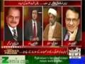 [Talk Show] Waqt News | H.I Raja Nasir Abbas - Iran Aur 6 Aalmi Taqatoon Main Muhaida - 14 Jan 2014 - Urdu