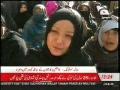 [Media Wtach]شہداء کے لواحقین کا میّتوں کے ساتھ کوئٹہ میں دھرنا جاری - Urdu