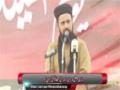 [یوم حسین ع] Speech : Maulana Faisal Azizi ( Sunni Ittehad Council) -  Karachi University - Urdu