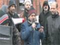 Zafar Abbas Zafar at Ottawa protest rally in-front of Nigerian High Commission - Urdu