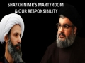 Shaykh Nimr\\\'s martyrdom & our responsibility   Sayyid Hasan Nasrallah - Arabic sub English